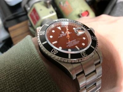 Rolex Submariner 16610 von 2008